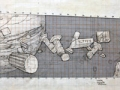 Galileo, Jupiter, Apollo (sketch), 1984
