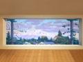Murals by Artist John Wehrle - Meridian HS - Bellingham, WA